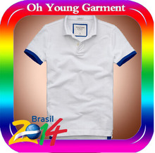 2014 new design hot selling men's cheap promotional polo shirts