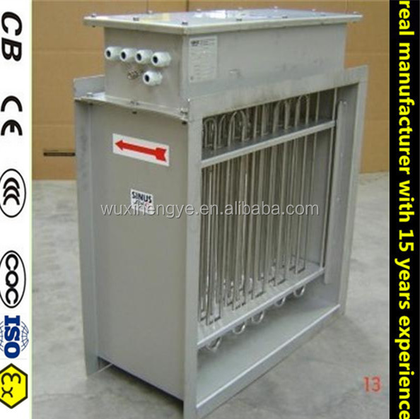 CE certificate natrual Gas duct/ electric industrial Heater