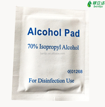 70% isopropyl antiseptic alcohol prep pad with CE certificate