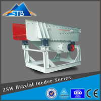 Electric Magnetic Vibrating Feeder For Crushing