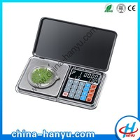 DD-01 1kg 0.01g portable digital pocket scale with counting