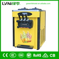 table top pre-cooling system soft ice cream machine