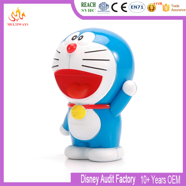Hot japanese plastic cartoon Doraemon toy figure
