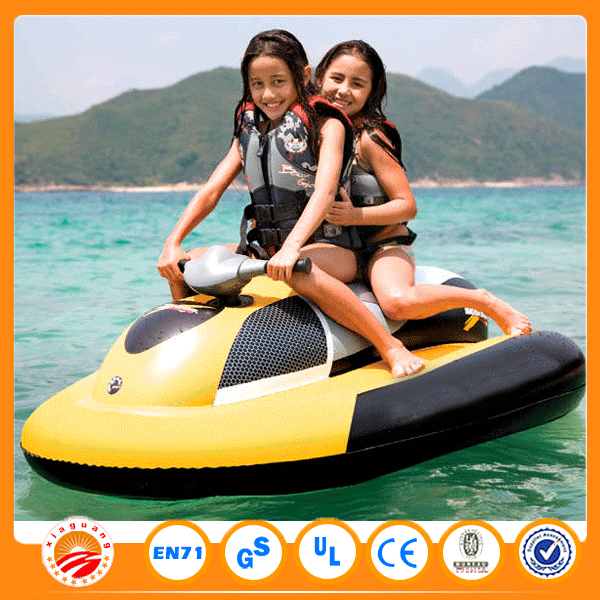 Children sea scooter small inflatable motorboat