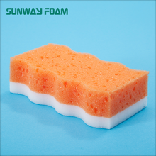 SUNWAY Direct Factory Kitchen Cleaning Dishes Nano Melamine Foam Sponges