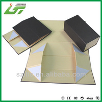 Recycle luxury packing paper gift box rigid fashion foldable box