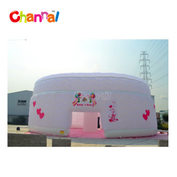 Giant Inflatable Cube Tent White inflatanle wedding tent for party for wedding