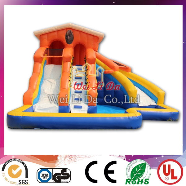 Manufacturer Quality Guarantee inflatable water slides wholesale