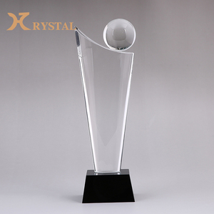 Wholesale Custom Blank Crystal Award Trophy Cup For Anniversary