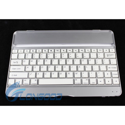 Brand new thin portable aluminum bluetooth wireless keyboard case for ipad in 9.7'' with function keys