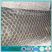 Pvc coated galvanized tree guard hexagonal wire mesh fence