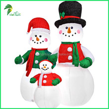 Guangzhou Hongyi Company Enjoy Good Reputation Christmas Decorative Inflatable Snowman
