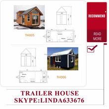 low cost mobile house/small mobile home/mobile house trailers for sale