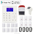 LCD 850/900/1800/1900MHz 2 Years warranty timely arm/disarm wireless intelligent security alarm system