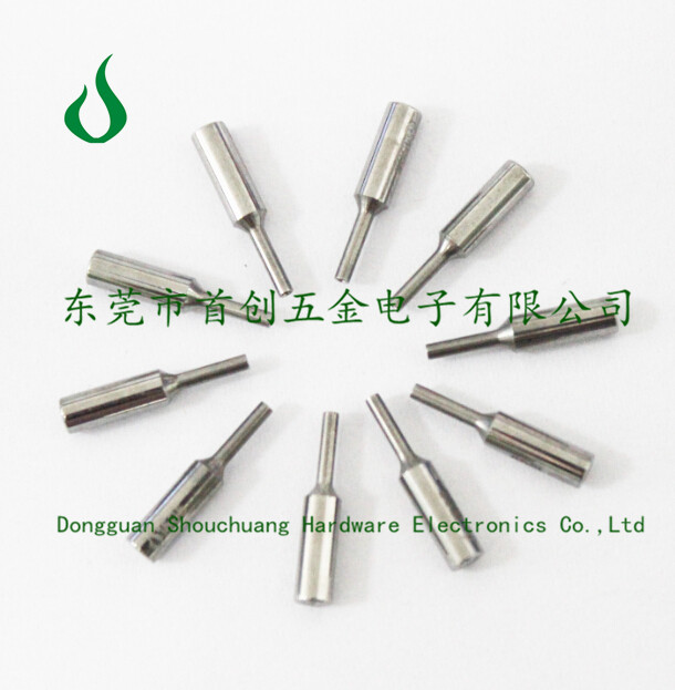 Guide high polished coil winding nozzle