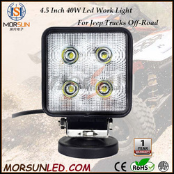 "2106 New product 4x4 Car Accessories 12v 24v 4.5"" 40w Led Work light ,4.5 inch car led headlight,auto led lighting"