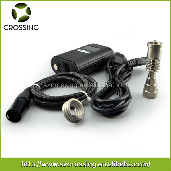 Portable H Enail Electric Nail Dab Coil Heater Mini Temperature ...