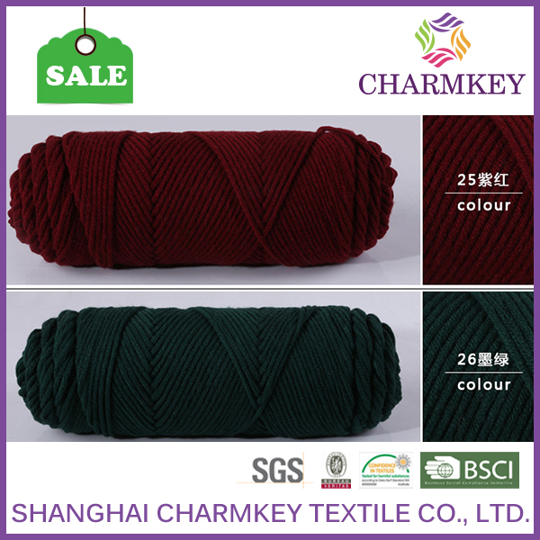 2016 charmkey cotton mop yarn discount yarn