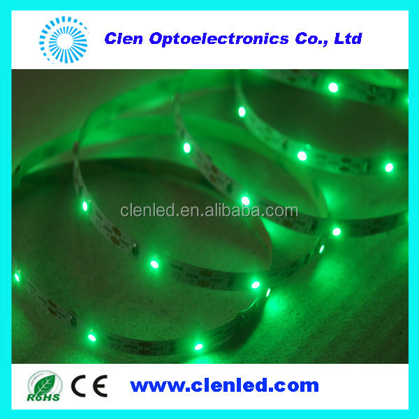 DC5V sound active green waterproof flexible lighting strips