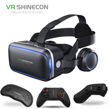 2018 Virtual Reality Box 3d Vr Glasses For Smartphone Windows Smartphone Vr Cardboard