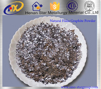 high purity low sulfur flake natural graphite powder