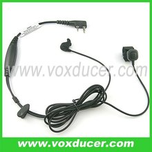 For QUANSHENG 2 way radio earphone with bone vibration ear bud