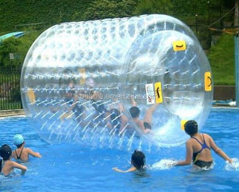 Low price giant roller ball human walk inside inflatable water rolling ball