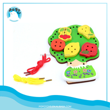 Apple tree wooden beads accessories toys