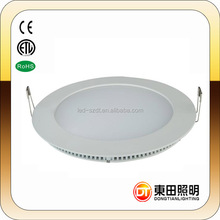 SAA DRIVER Dimmable High Quality 12watt LED Panel Lamp with CE RoHS certification 6W 9W 12W 15W 18W 20W round led panel light