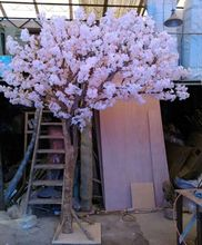 Newest good quality indoor&outdoor centre piece pink artificial Cherry Blossom Tree