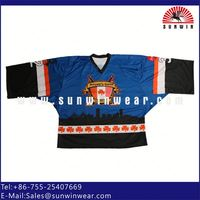 Hot items!!! Custom Reversible Hockey Jerseys High Quality High Quality with full sublimation