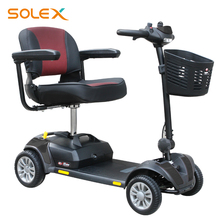 High Grade Electrical Powered Lithium Battery Disability Mobility Scooter With Four Wheels