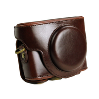 online supplier Leather Camera Case Bag for S ony DSC-RX100