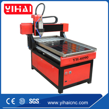 mini desktop 3d cnc router 6090/small cnc engraving cutting machine for wood, MDF, acrylic, stone, aluminum 6090