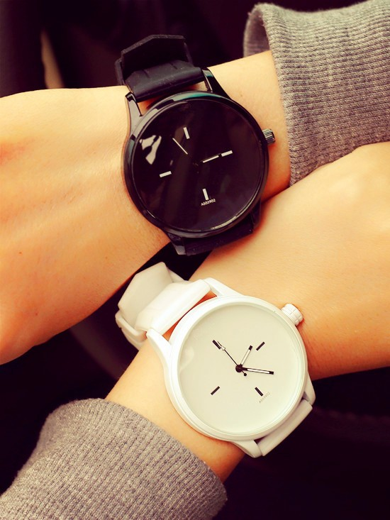 Couple lovers fashion mental wrist watch CH9010 pair watch