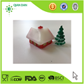 plastic Christmas cake toppers for Christmas cake decoration