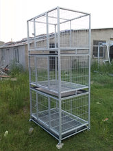 wholesale large stainless steel parrot bird cage