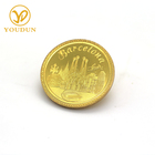 Unique design 3D logos metal custom souvenir coins