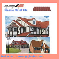 High Quality Metal Roof Tile with Stone Color