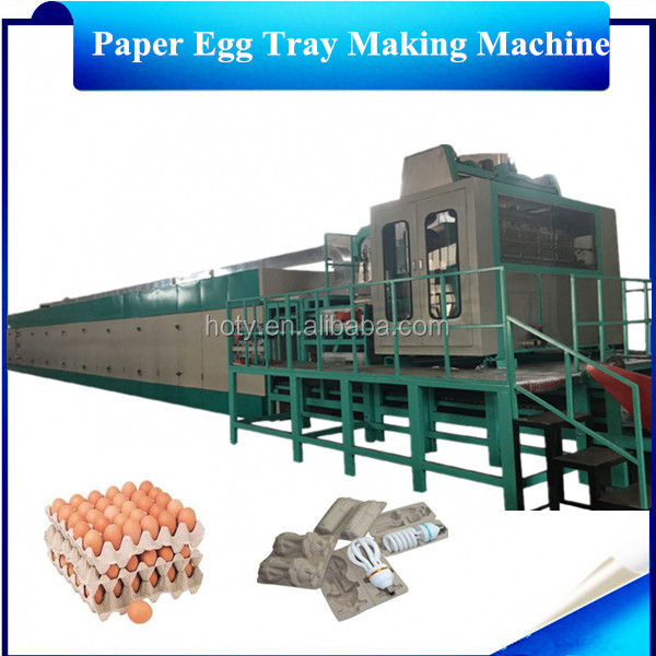 30 psc egg tary box making machine /Waste paper making egg tray product line /egg tary packing machine