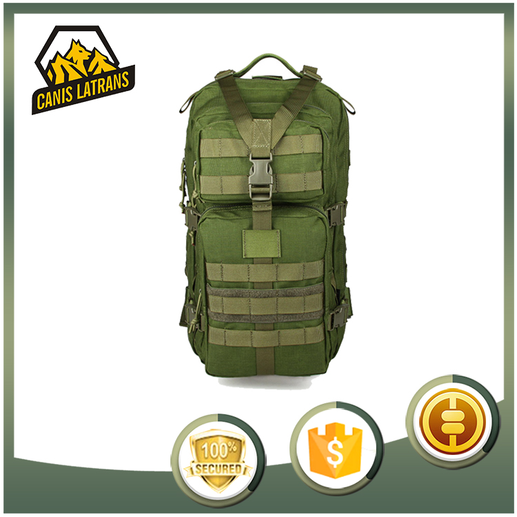 High Capacity Fire Proof 30L Pattern Military Green Backpacks Italian Russian Backpack