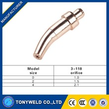High quality Victor 3-118 welding torch cutting nozzle/tips