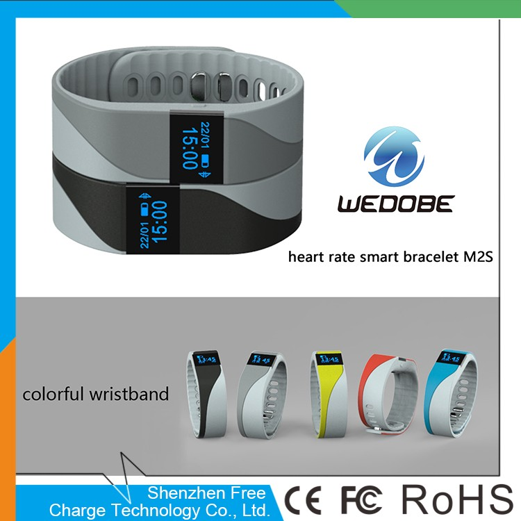 cheap goods from china M2S new intelligent wrist band fitness smart bracelet with bluetooth headset