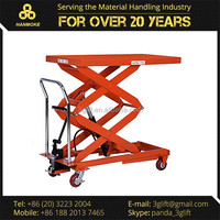 Manual Hydraulic Furniture Moving Trolley, Customized Available