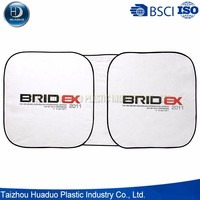Portable Customized Logo Printed Tyvek Car Sunshade