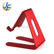 OEM aluminum alloy hand cell phone table stand holder for apple phone
