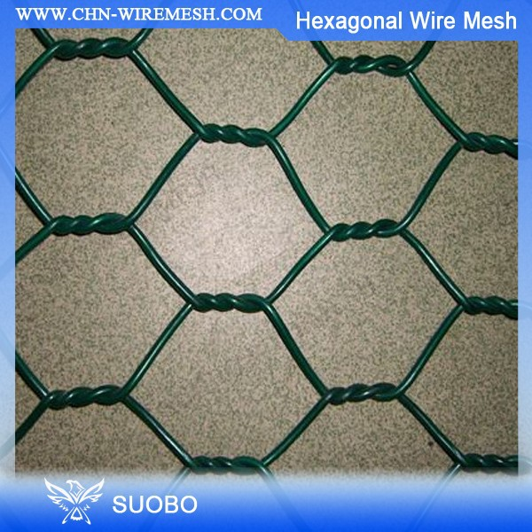High Quality Pvc Coated Hexagonal Wire Mesh 1/2 Inch Pvc Coated Hexagonal Wire Mesh Galvanized Hexagonal Wire Mesh