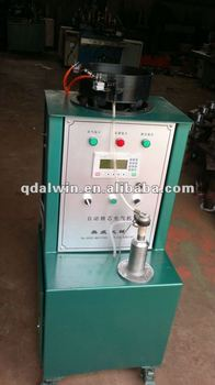 Automatic motorcycle and bicycle tyre valve core machine