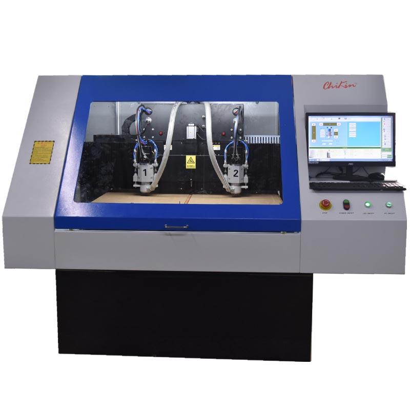 CNC control automatic PCB circuit board making machine Price/ 2 axis CNC drilling and routing equipment manufacturers