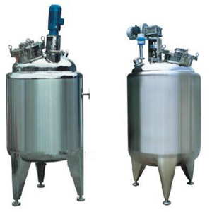 Double Wall Stainless Steel Emulsification Blending Syrup Mixing Tank Machine